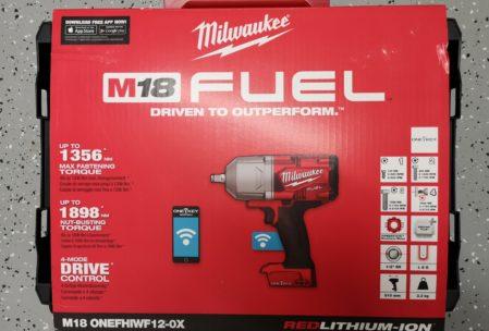 Milwaukee ONEFHIWF1-0X Akku Schlagschrauber mit Sprengring (0-Version ohne Akku und Ladegerät)
